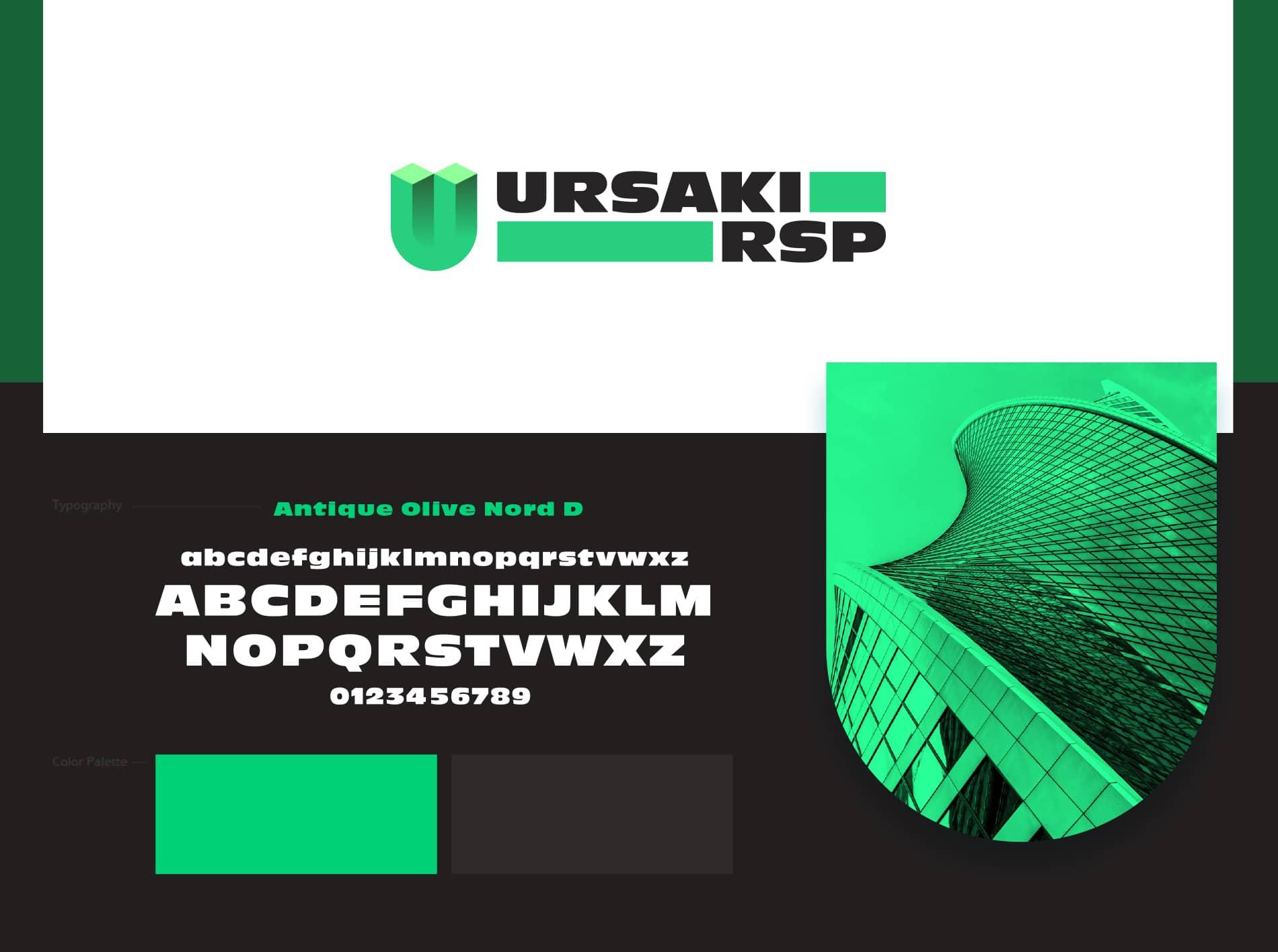 URSAKI Logo Design