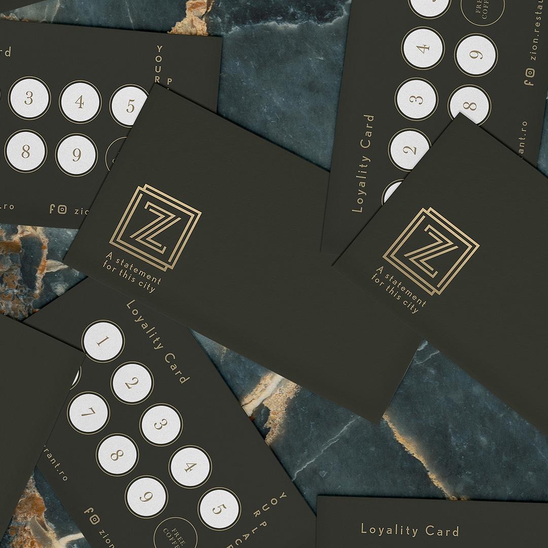 ZION Carduri De Loialitate