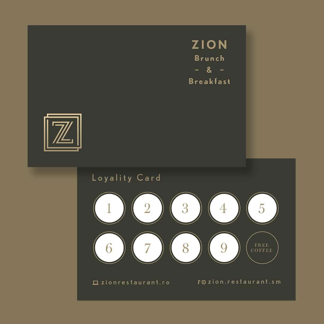 Card De Loialitate Zion