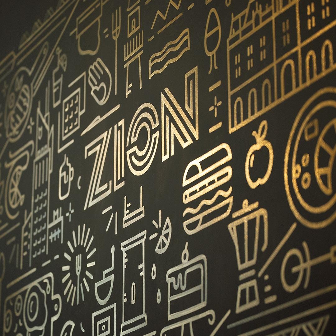 Pictură Murală ZION