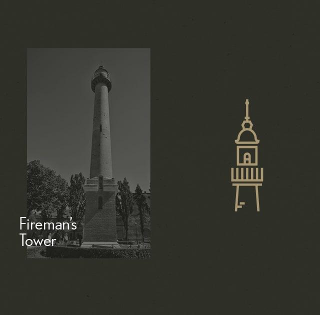 Icon Turnul Pompierilor Din Satu Mare